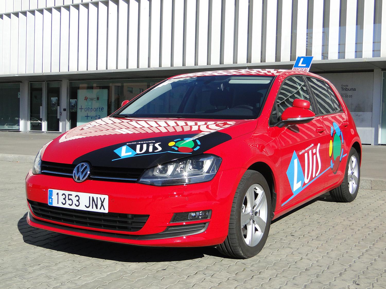 VW Golf Rojo_4
